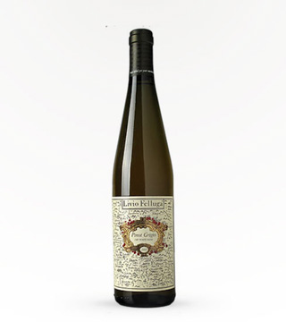Felluga Pinot Grigio Map Label