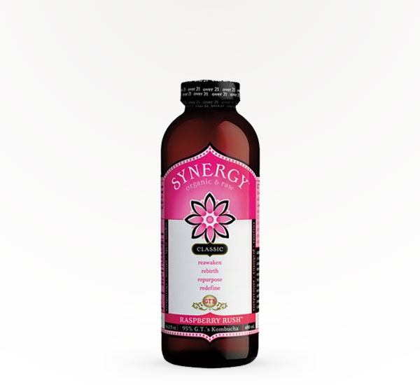 GT's Synergy Kombucha Raspberry Rush