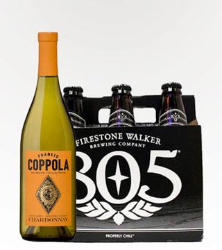Coppola Chardonnay and Firestone 805