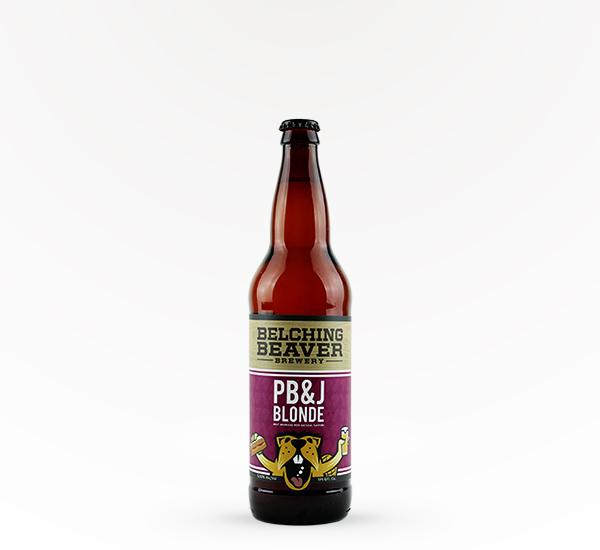 Belching Beaver Peanut Butter & Jelly Blonde Ale 22oz