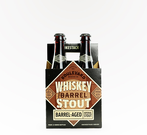 Boulevard Brewing Whiskey Barrel Stout 4pkb
