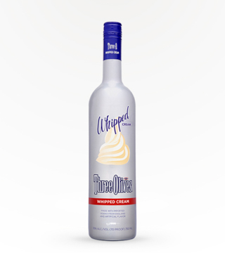 Three Olives Whipped Cream