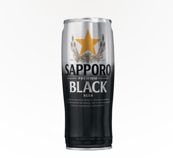 Sapporo Premium Black Lager 22oz can