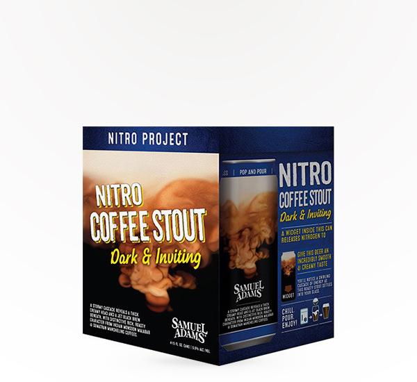 SAM ADAMS NITRO COFFEE 4PKC