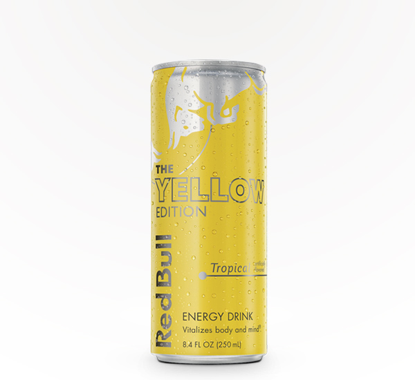 RED BULL 12 OZ- YELLOW EDITION