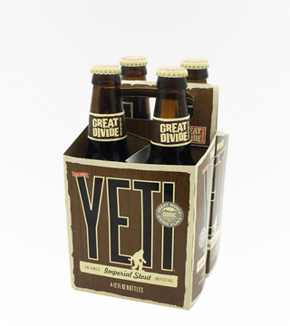 GREAT DIVIDE YETI STOUT 4PKC