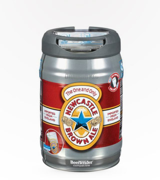Newcastle Brown Ale 5 Ltr Keg