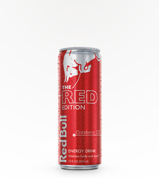 RED BULL 12 OZ - RED EDITION