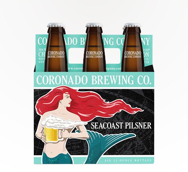 Coronado Seacoast Pilsner 6pkb