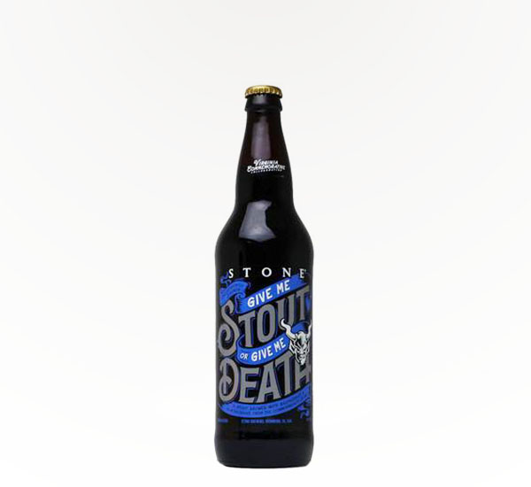 Stone Brewing Give Me Stout Or Give Me Death