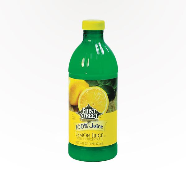 First Street Lemon Juice