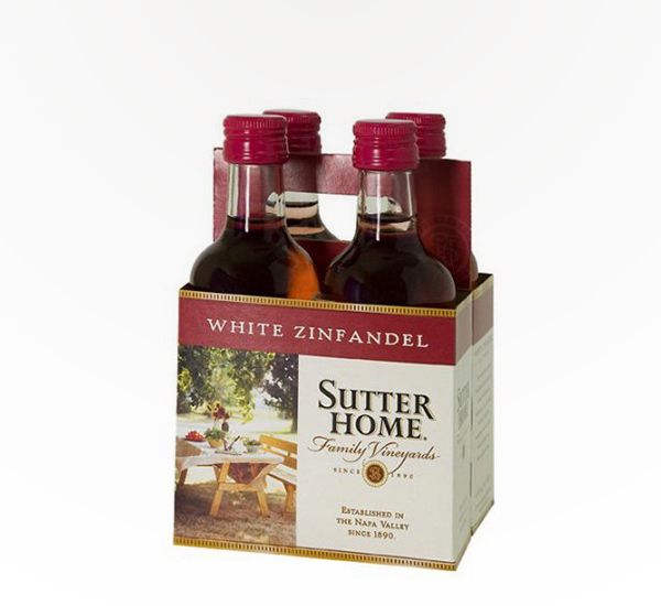 Sutter Home White Zinfandel 4-Pack