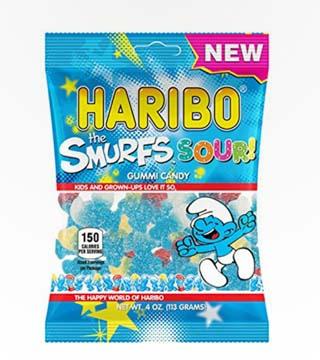 Haribo the Smurfs Sour