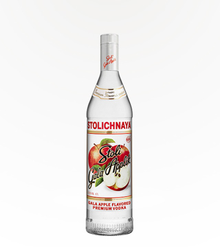 Stoli Gala Apple Vodka 750ml