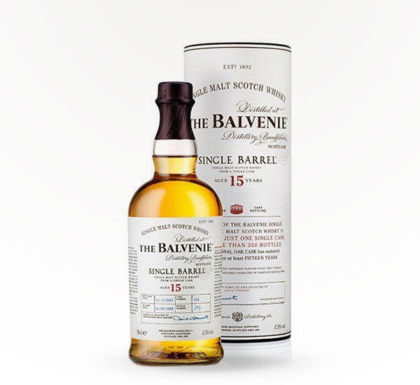 Balvenie Scotch 15 Year Single Barrel