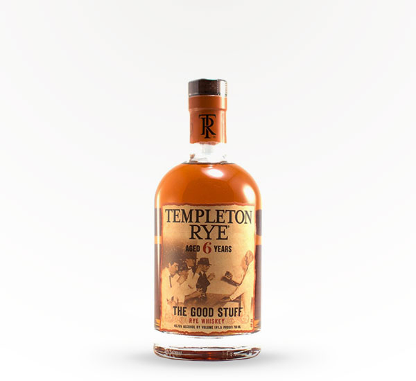 Templeton Rye Whiskey - 6 Year