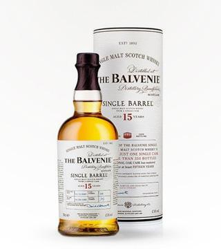 Balvenie Scotch 15 Year Single Barrel