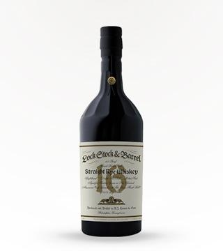 Lock, Stock & Barrel 16 Year Straight Rye Whiskey