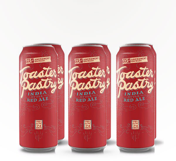 21st Amendment Toaster Pastry 6 Pack
