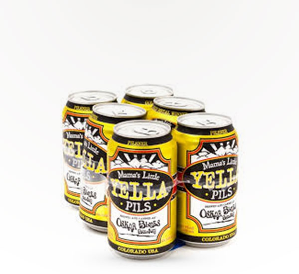 Oskar Blues Mama's Little Yella Pils