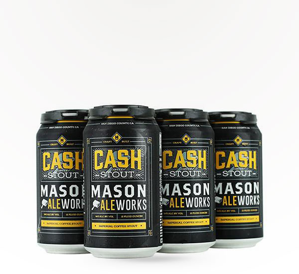 Mason Ale Works Cash Imperial Coffee Stout