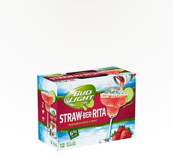 Bud Light Straw Ber Rita