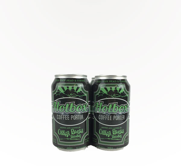 Oskar Blues Hot Box Porter 4pc