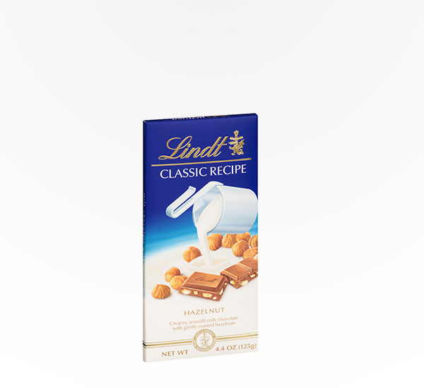 Lindt Milk Chocolate w/Hazelnuts Bar