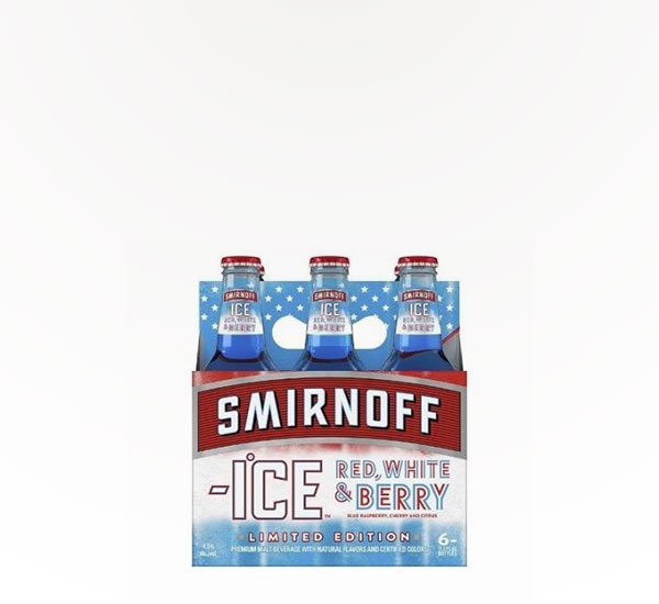 Smirnoff Ice Red, White, and Berry