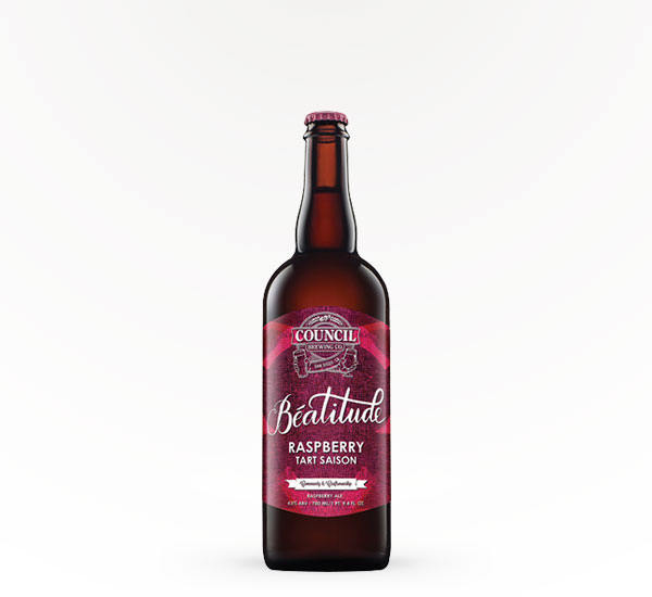 Council Brewing Beatitude Raspberry