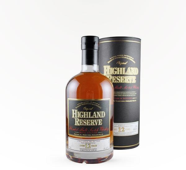 Highland Reserve 12 Yr Scotch