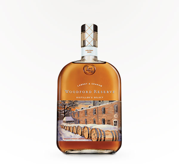 Woodford Reserve - Holiday Artist Bottle 1LT