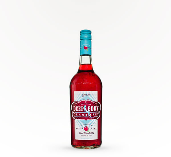 Deep Eddy Cranberry Infused Vodka 750ML
