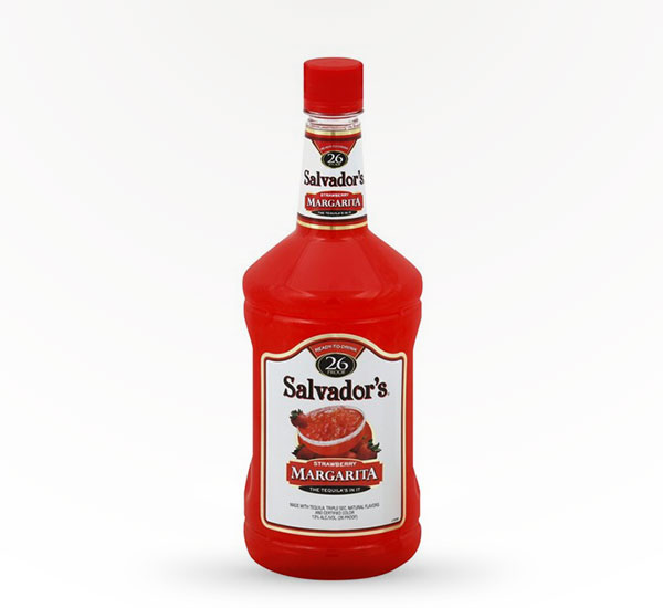 Salvador's Strawberry Margarita