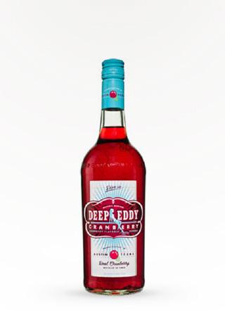 Deep Eddy Cranberry Infused Vodka 750ML