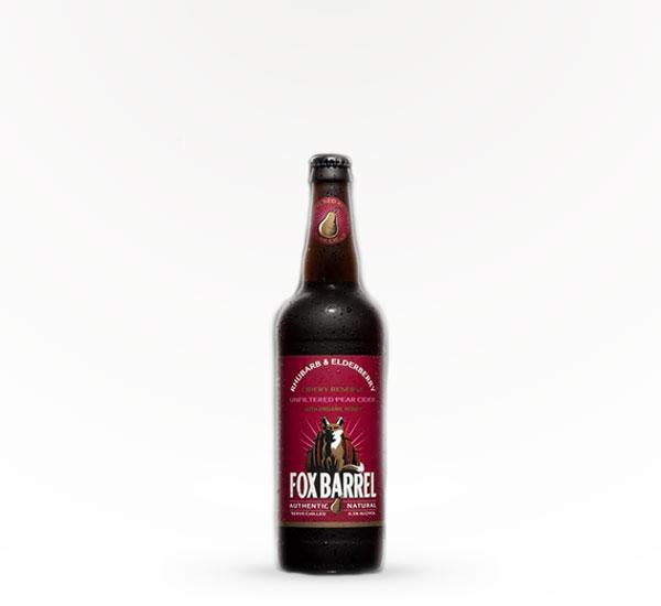 Fox Barrel Rhubarb & Eldrby