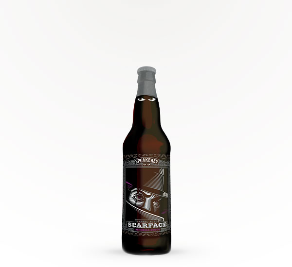 SPEAKEASY SCARFACE STOUT 22OZ