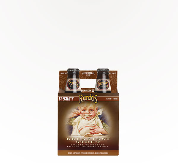 Founders Brewing Breakfast Stout 4pkb
