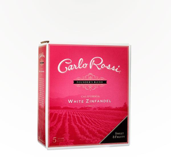 Carlo Rossi White Zinfandel 5L Box