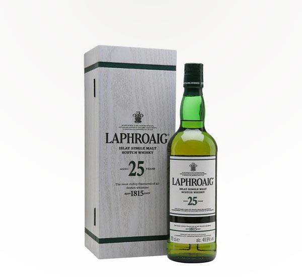 Laphroaig 25 Yr Scotch