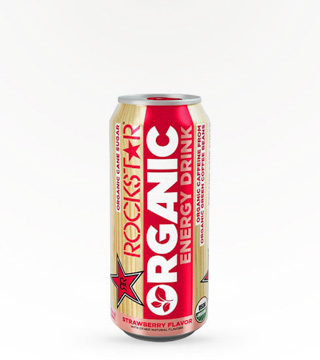 Rockstar Organic Strawberry 16oz can