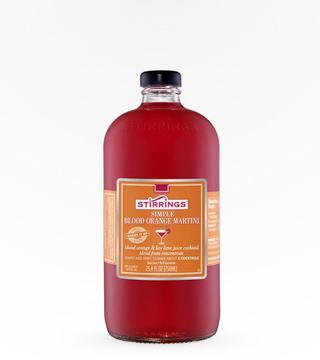 Stirrings Blood Orange Martini
