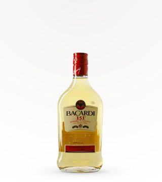 Bacardi 151 Proof Rum 375 Ml