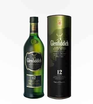 Glenfiddich Scotch 12 Year Old