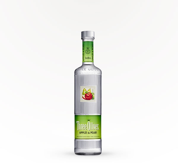 Three Olives Apples & Pears Flavored Vodka