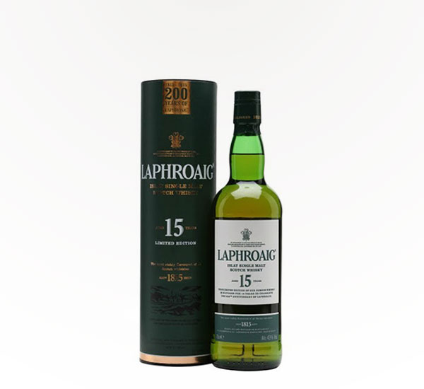 Laphroaig Scotch 15 Year