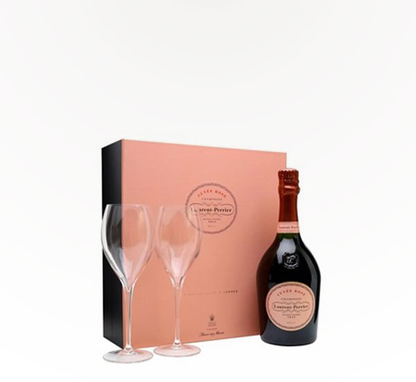 Laurent Perrier Rose Gift Set