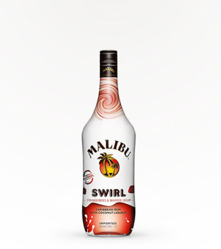 Malibu Rum Strawberry Swirl