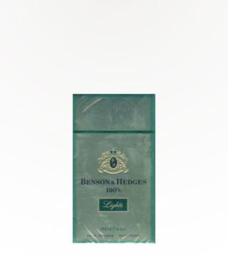 Benson & Hedges Menthol 100s