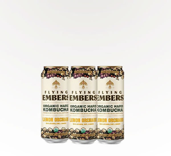Flying Embers Alcoholic Kombucha
